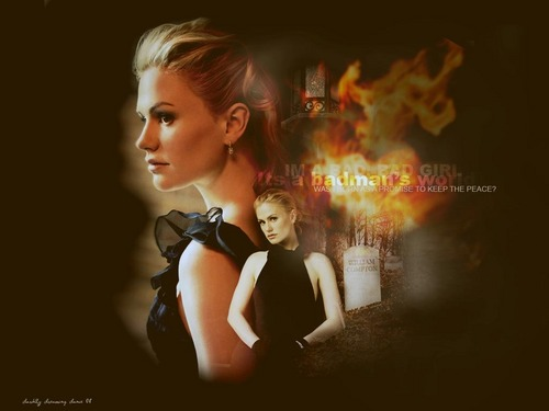 Sookie Stackhouse wallpaper containing a portrait entitled WallPaper