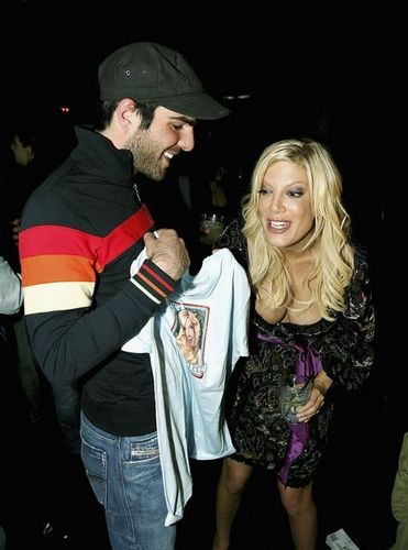 Zach and Tori Spelling