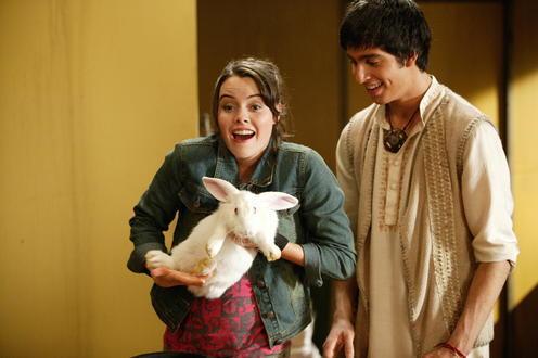 alex and kuru with rabbits - the-elephant-princess photo