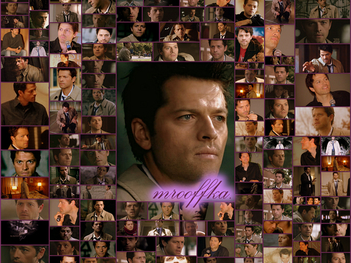 collage Castiel