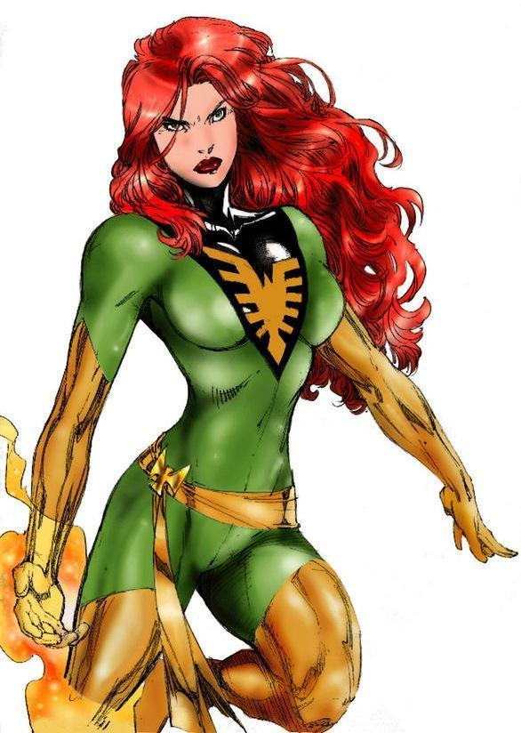 JEAN GREY FROM THE X MEN