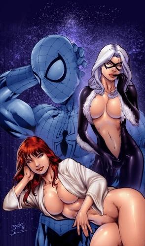 Marvel Black Cat Nude 85