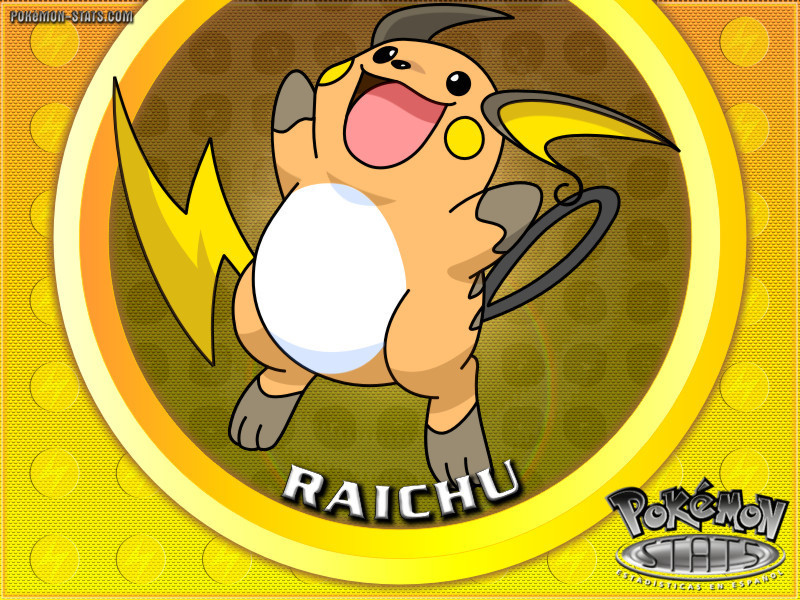 Electric Type Pokemon images raichu wallpaper HD wallpaper ...