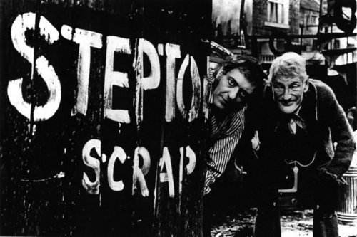 Steptoe and Son wallpaper with a sign and a street called steptoe