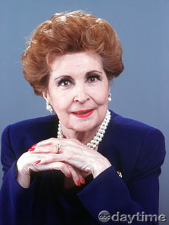 the late Myrtle Fairgate played by the late Eileen Herlie - all-my-children Photo
