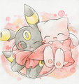 umbreon and mew