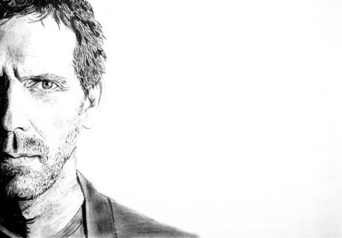 A sketch of Dr. House