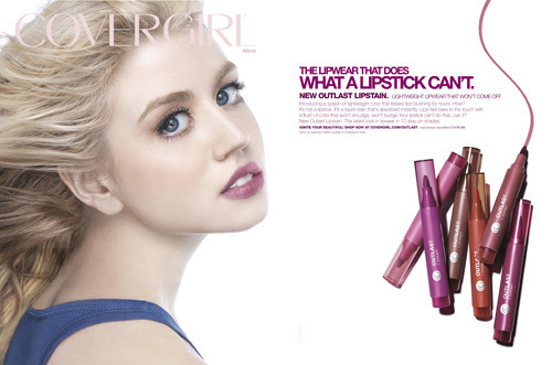 america's selanjutnya puncak, atas model wallpaper with a portrait entitled Allison - CoverGirl