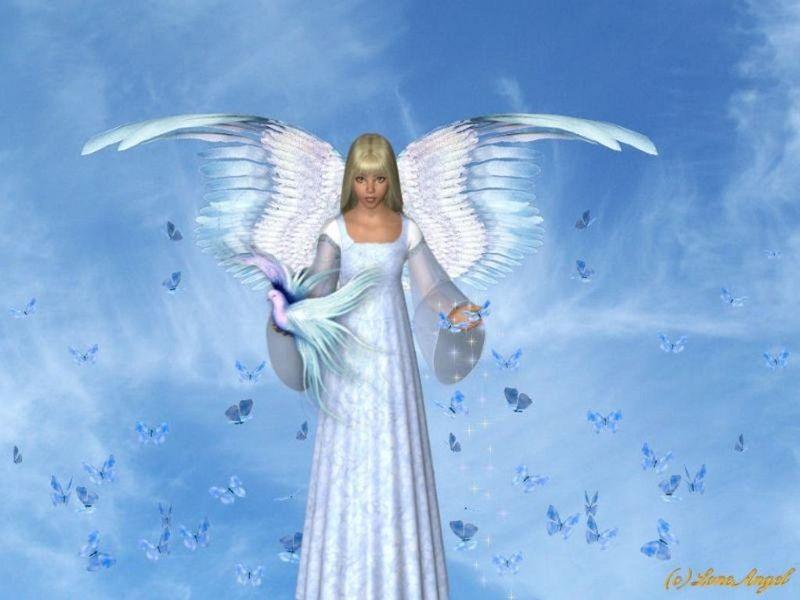 angels wallpaper. Angel Wallpaper