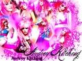 Audrey Kitching Pink Wallpaper