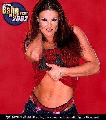 Babe of the ano 2002 - Lita