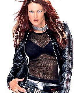 "Amy ""Lita"" Dumas Hintergrund called Babe of the Jahr 2003 - Lita"