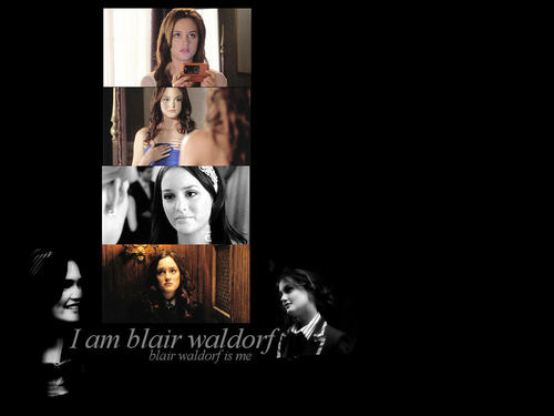 Blair Waldorf wallpaper with a totem pole titled Blair