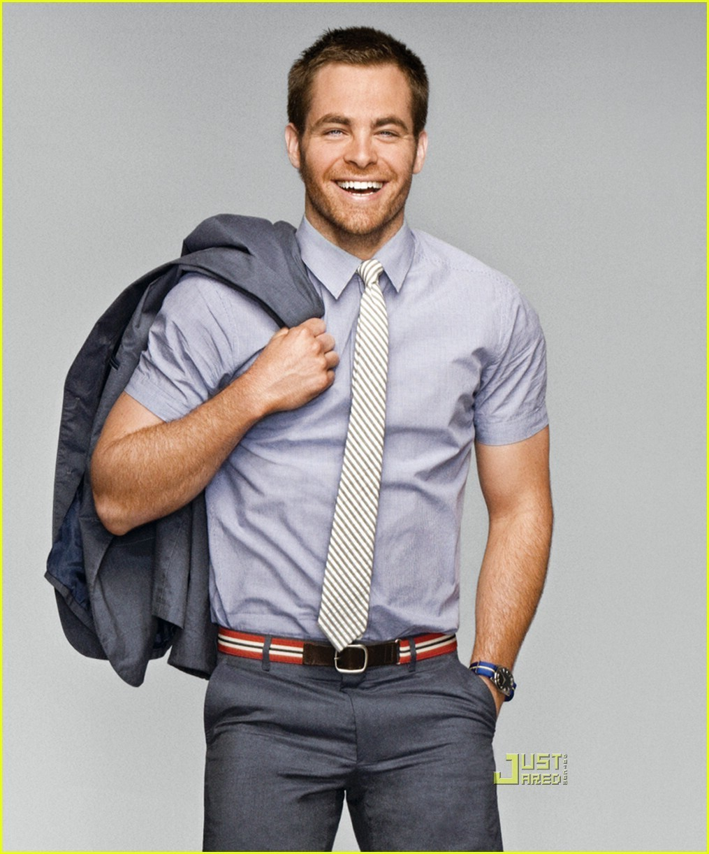Really. chris pine sexy can recommend