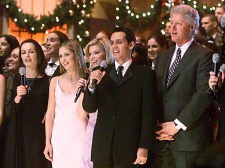 বড়দিন at the White House