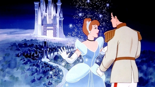 Disney Couples پیپر وال titled Cinderella and Prince Charming