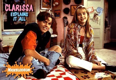 The 90s wallpaper possibly containing a sign entitled Clarissa Explains It All