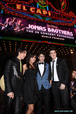 Demi and The Jonas Brothers