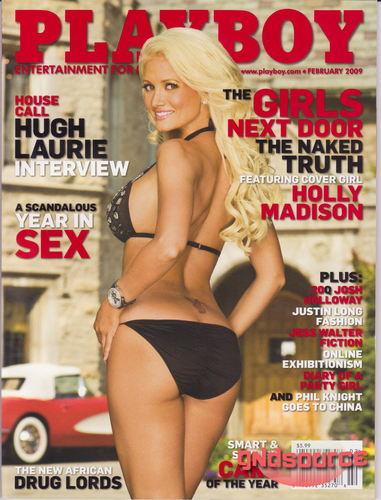 GND Playboy Cover