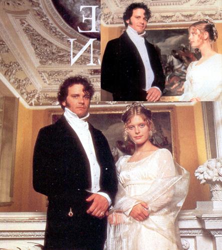 Georgiana and Fitzwilliam Darcy