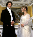 Georgiana and Fitzwilliam Darcy