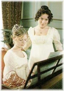 Georgiana and Lizzy