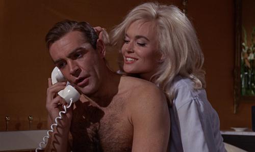 James Bond fond d'écran called Goldfinger