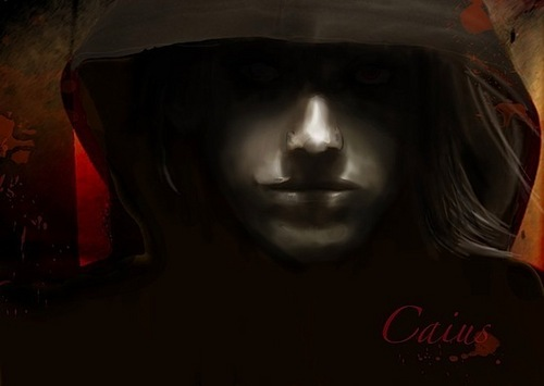 It looks like...caius...or marcus i dunno it scares the BAJESUS OUT OF ME! lmao