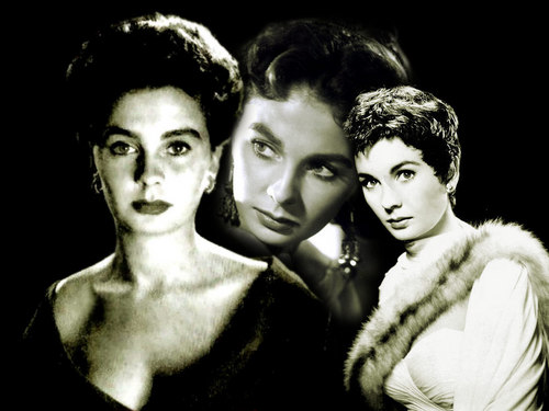 Classic Movies wallpaper with a fur coat entitled Jean Simmons