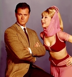 I Dream of Jeannie wallpaper possibly containing a portrait entitled Jeannie and Tony
