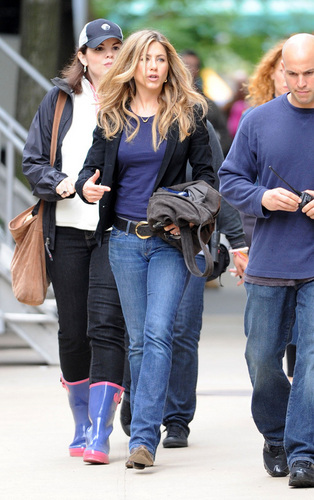 "Jennifer on Set"" The Baster"""