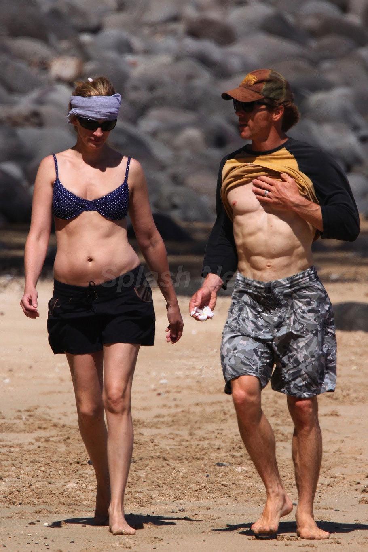茱莉亚·罗伯茨 images julia and danny walking on the 海滩 in图片