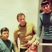 Kirk, McCoy, and Spock