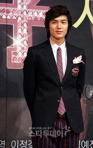 Lee Min-Ho co étoile, star of BBF