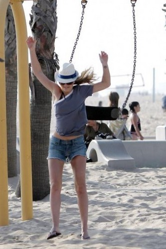 Leighton at LA Beach