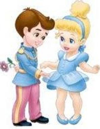 Little cinderela and Prince Charming
