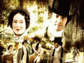 Lizzy and Darcy - pride-and-prejudice-1995 wallpaper