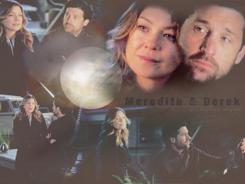 Meredith & Derek karatasi la kupamba ukuta entitled MerDer karatasi la kupamba ukuta Season 5