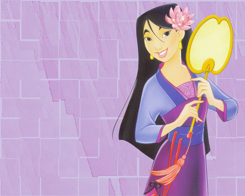 disney Leading Ladies wallpaper entitled mulan