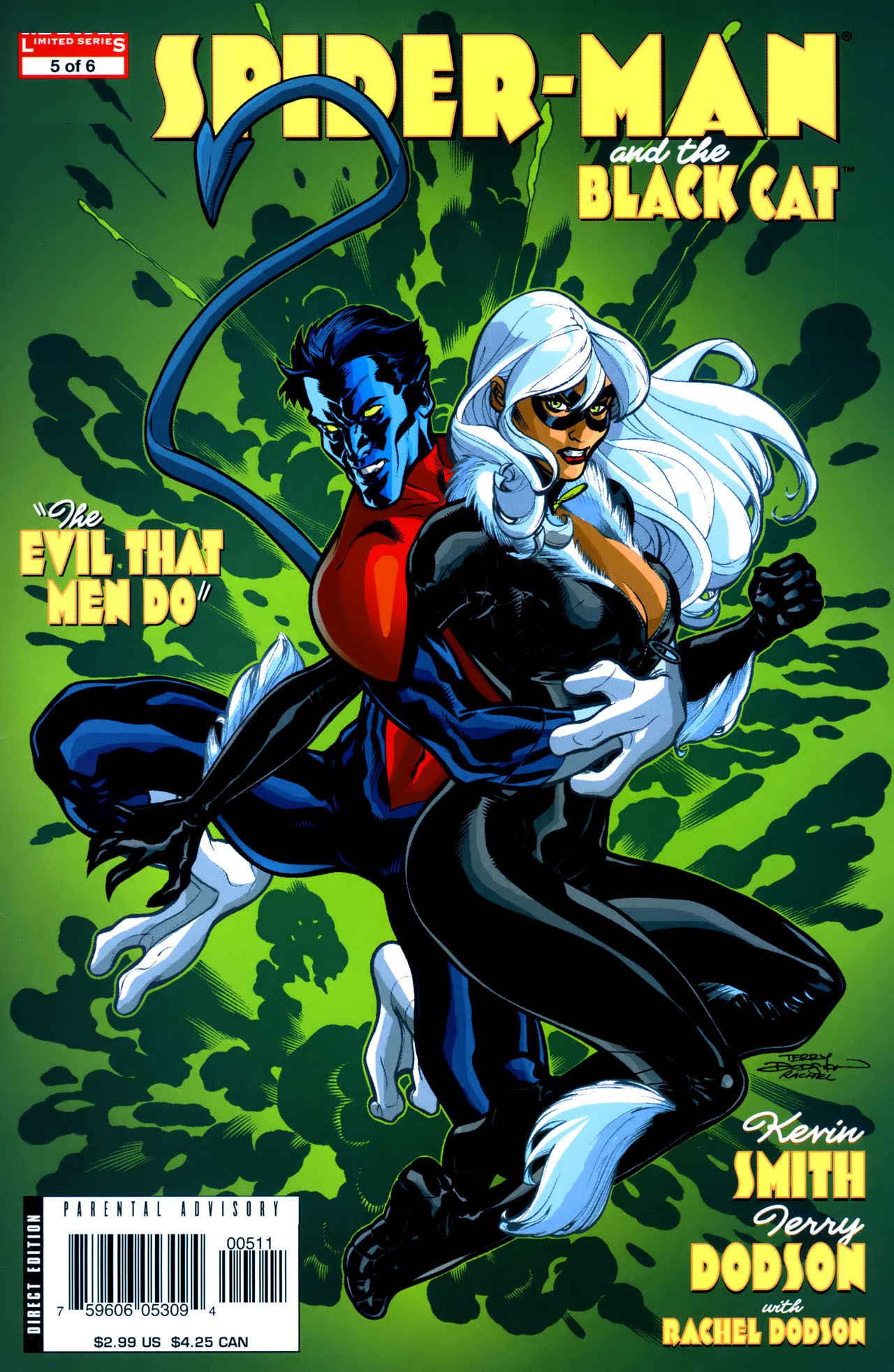 Amazoncom SpiderManBlack Cat The Evil That Men Do