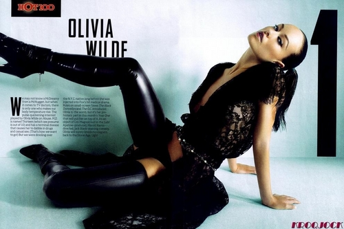 Olivia Wilde #1 on the Maxim Hot 100 Список 2009