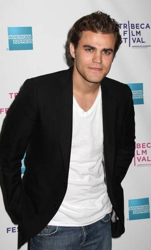 The Vampire Diaries wallpaper probably with a business suit and a well dressed person called Paul Wesley cast as Stefan.