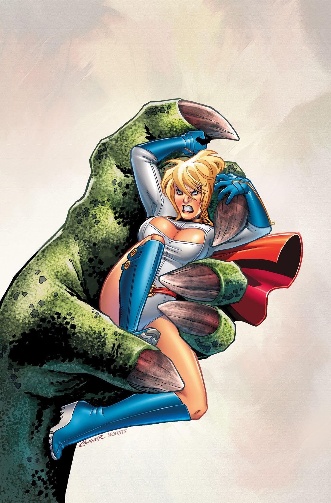 Dc comics power girl 4