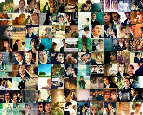 Pride and Prejudice wallpaper entitled Pride and Prejudice Collage