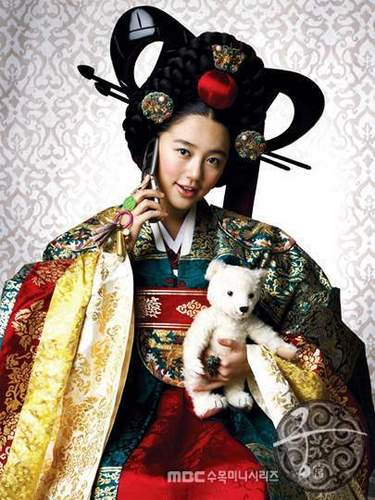 Korean Dramas wallpaper possibly containing a kimono entitled Princess Hours