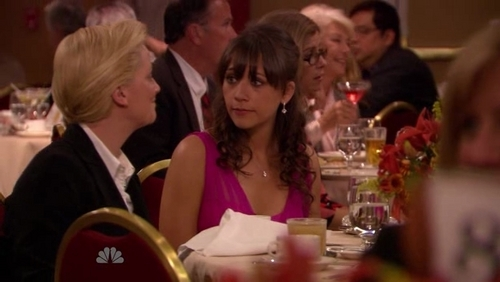 Rashida on  Parks and Recreation  - rashida-jones ScreencapRashida Jones Hair Parks And Recreation