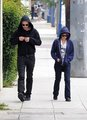 Rob in Beverly Hills With ? - twilight-series photo