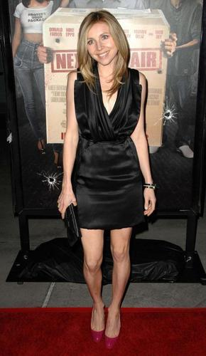 "Sarah Chalke Screening Of Summit Entertainment's ""Next hari Air"""