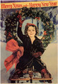 Shirley Temple Christmas Card