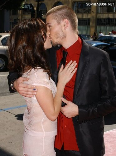 "Sophia بش and Chad Michael Murray at ""A Cinderella Story"" Premiere"